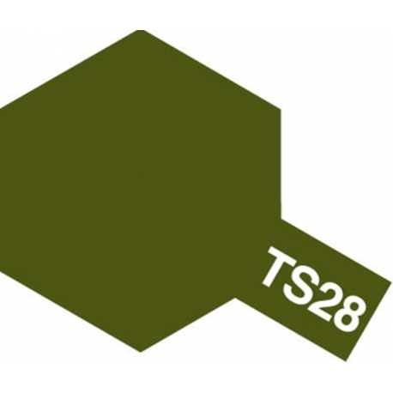 TAMIYA 85028 Peinture Bombe Spray TS-28 Vert Olive 2 Mat / Olive Drab