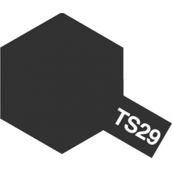 TAMIYA 85029 Peinture Bombe Spray Aérosol TS-29 Noir Satiné / Semi Gloss Black