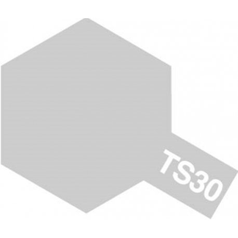 TAMIYA 85030 Peinture Bombe Spray TS-30 Aluminium Brillant / Silver Leaf