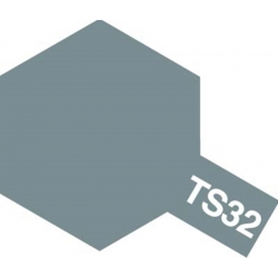 TAMIYA 85032 Peinture Spray TS-32 Haze Gray - Gris brumeux