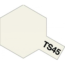TAMIYA 85045 Peinture Bombe Spray TS-45 Blanc Nacré / Pearl White