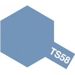TAMIYA 85058 Peinture Bombe TS-58 Bleu Perle Clair