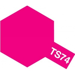 TAMIYA 85074 Peinture Bombe TS-74 Rouge Translucide
