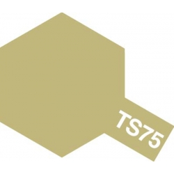 TAMIYA 85075 Peinture Bombe Spray Aérosol TS-75 Champagne Métallisé / Champagne