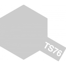 TAMIYA 85076 Peinture Bombe Spray TS-76 Argent Clair Métal / Mica Silver