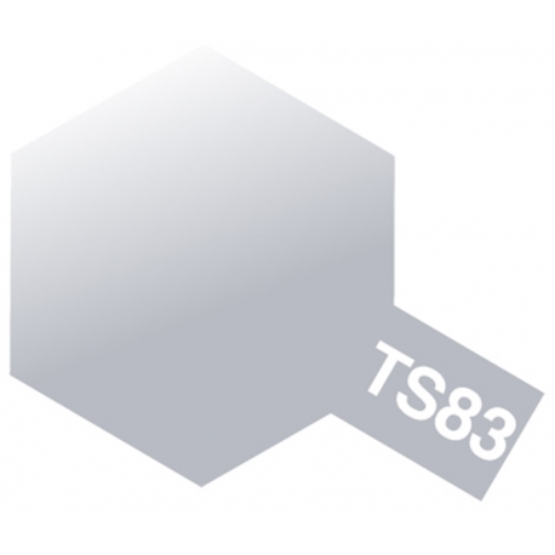 Tamiya 85083 Paint Spray Ts-83 Metallic Silver - Passion132