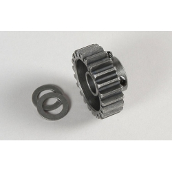 FG Modellsport 07431 Steel gearwh. 22 teeth hardened (1p)