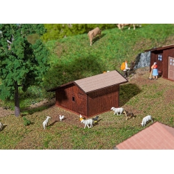 Faller 130183 HO 1/87 Basse-cour - Small Livestock Stable