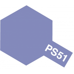 TAMIYA 86051 Peinture Bombe PS-51 Alu Violet Anodisé / Purple Aluminum