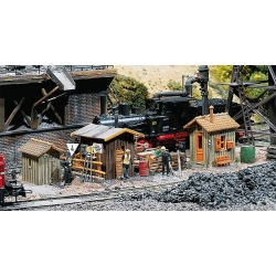Faller 120140 HO 1/87 3 Trackside shanties