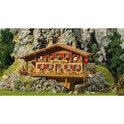 Faller 130329 HO 1/87 Refuge de haute montagne Chalet Moser - Chalet Alpine hut