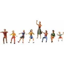 FALLER 153050 HO 1/87 Jeu de figurines pour fête foraine I