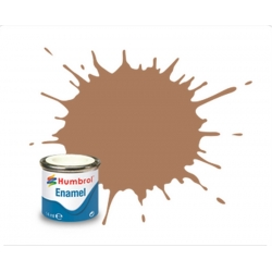 HUMBROL Peinture Enamel 118 US TAN 14ml MATT