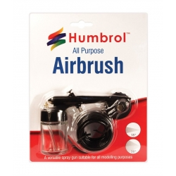 HUMBROL AG5107 Aérographe simple action - All Purpose Airbrush