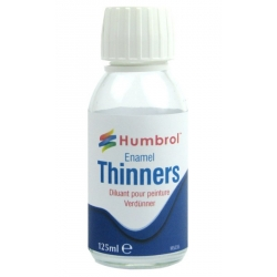 HUMBROL AC7430 Enamel Thinners 125 ml Bottle - Diluant Email