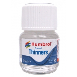 HUMBROL AC7501 Enamel Thinners 28ml Bottle - Diluant Email