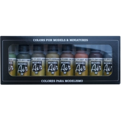 VALLEJO Model Air Set 71175 WWII Allemand – WWII German starter set 8x17ml