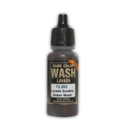 VALLEJO 73.203 Game Color Umber Washes 17 ml.