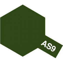 TAMIYA 86509 Peinture Bombe Spray AS-9 Vert Foncé RAF / Dark Green