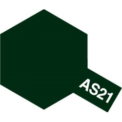 TAMIYA 86521 Peinture Bombe Spray AS-21 Vert Foncé 2 IJN / Dark Green 2